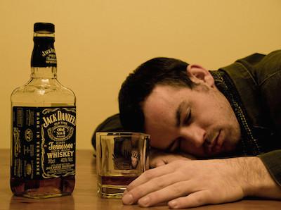 depressed drinking