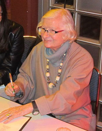 photo of mystery writer P.D. James